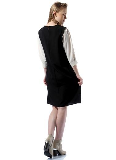 Asymmetry Truvakar Kol Elbise Siyah